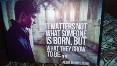 It matters not what as to someone is born