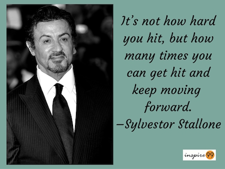 Rocky balboa quote and meaning, how hard you get hit quote, how hard you hit quote meaning, how many times you can get hit and keep moving forward quote, keep moving forward quote meaning