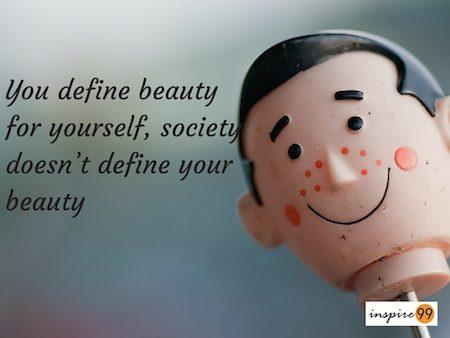 define beauty quote lady gaga, lady gaga on society, society doesnt define your beauty, define beauty