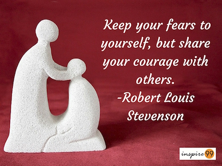 fears, keep fears to yourself, handling fears, fears in life,