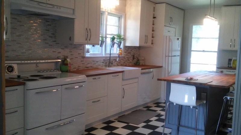 Large Of Corner Stoves In Kitchens