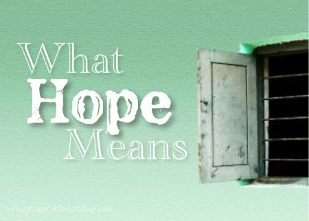 What Hope Means
