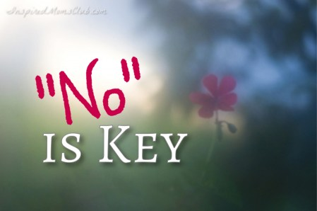 """No"" is Key"