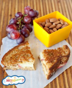 grilled-apple-sandwich-cooling-on-board-