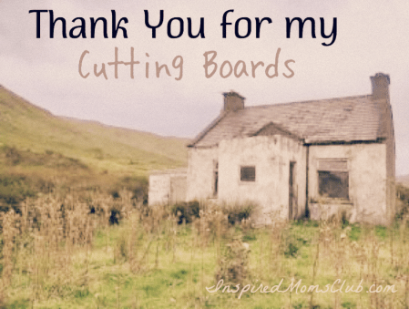 Thank You For My Cutting Boards