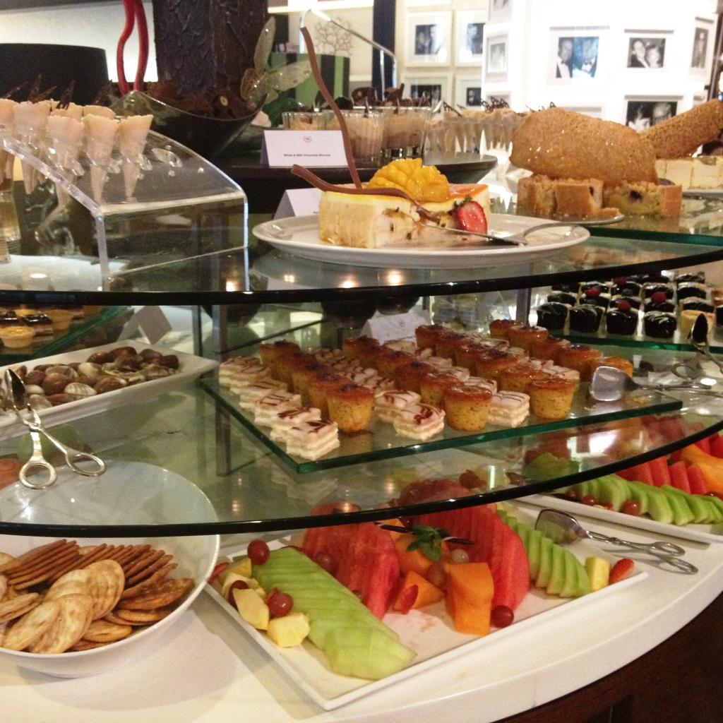 High tea at The Gallery Tea Lounge