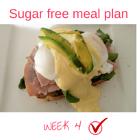 Button - Inspired Mood Sugar free meal plan Week 4