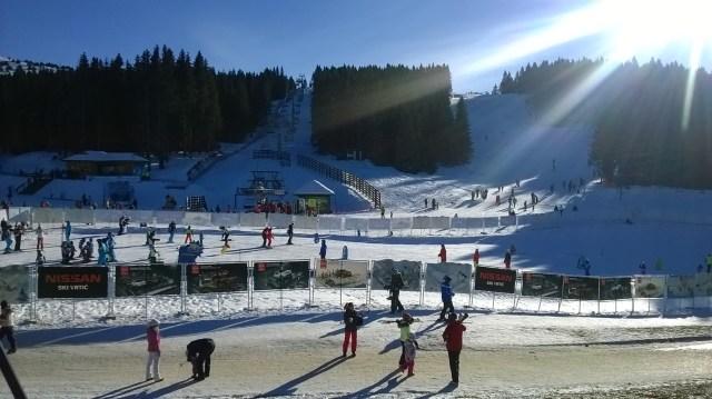 The area for ski beginners in Kopaonik