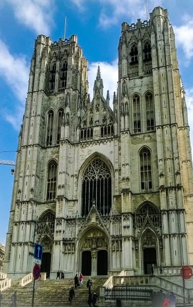 The Cathedral of Saint Michel and Saint Gudula
