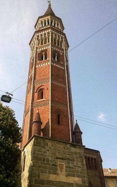 Octagonal clock tower of San Gottardo church