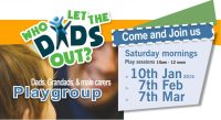 Who let the dads out – play group