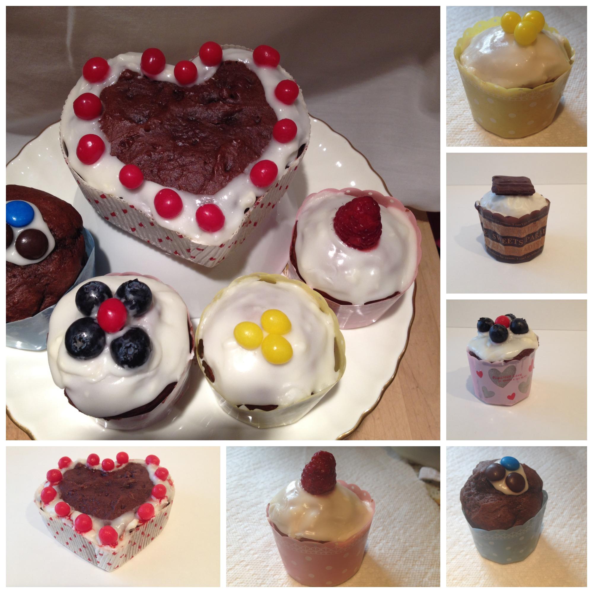 Inspiring Kitchen Baking papers cupcakes