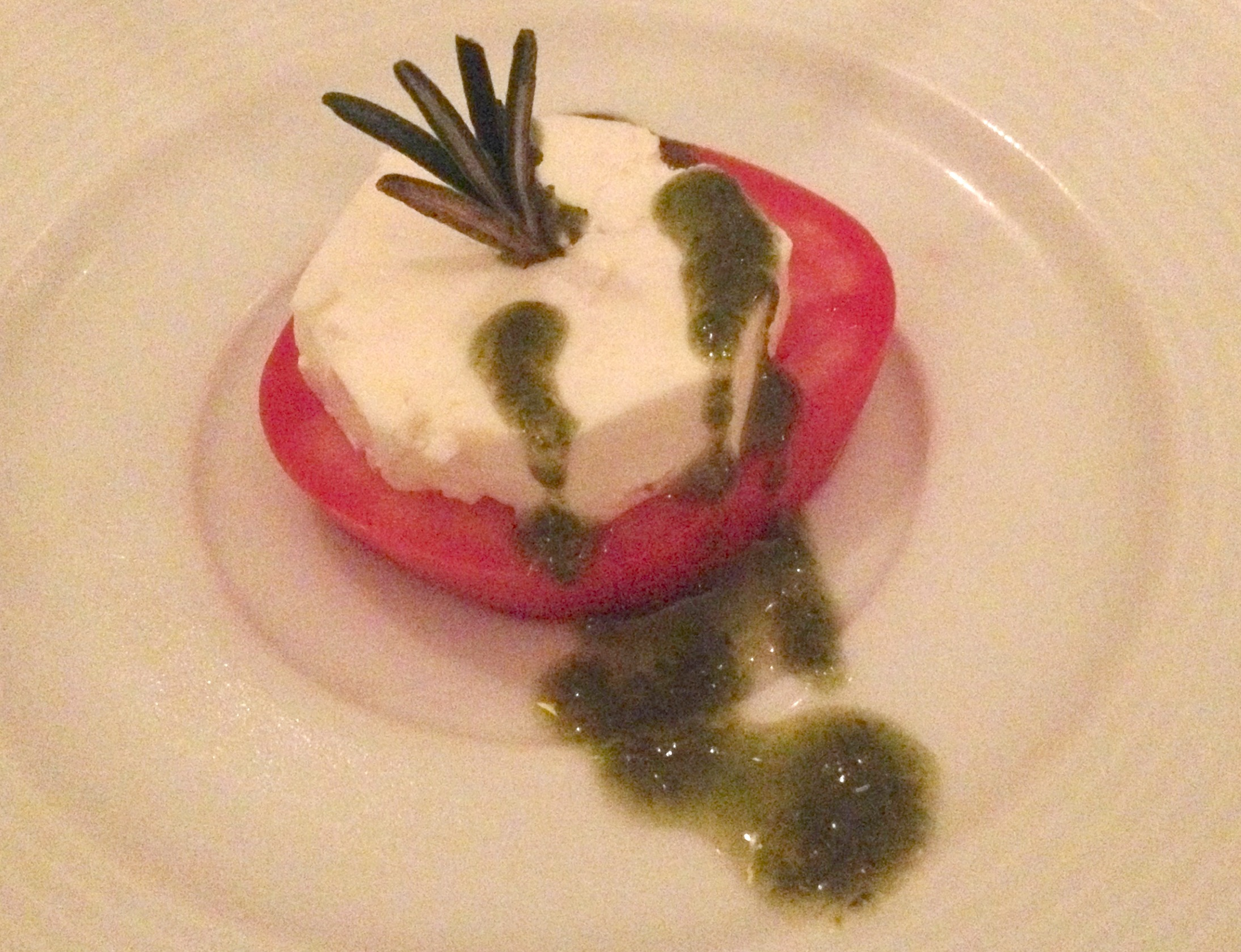 Inspiring Kitchen Casa Velas caprese salad picm dining
