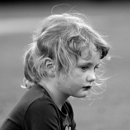enfant en deuil decès