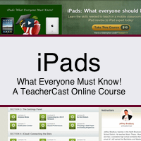 Learn to use your iPad with TeacherCast