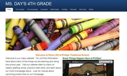 Class Websites Should Also Benefit Parents