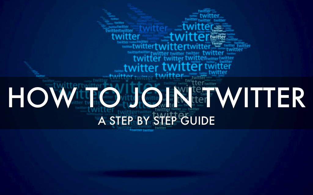 How To Join Twitter
