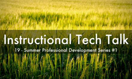 019 – Summer Professional Development Session #1