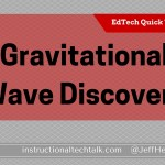 Gravitational Waves Found: Resource for Discussion