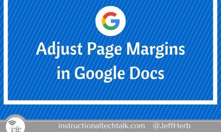Change Margins in a Google Doc