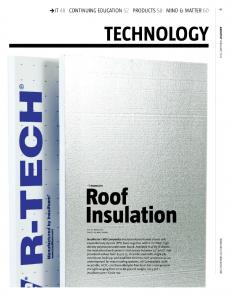 R-Tech Roof Insulation