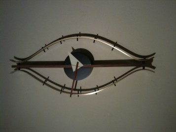 Reproduction George Nelson Eye clock