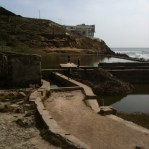 Sutro Bath ruins walkway