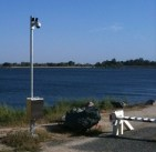 Security cameras at Folsom Lake