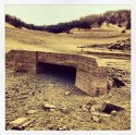 Normally submerged bridge at Peninsula campground, road from Mormon Island to Rattlesnake Bar