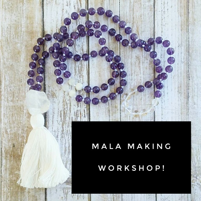 Mala Making Workshop with Devin from Mystic Moons Tarot
