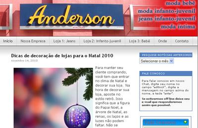 Anderson Atacado comemora 1 milhão de visitas no site