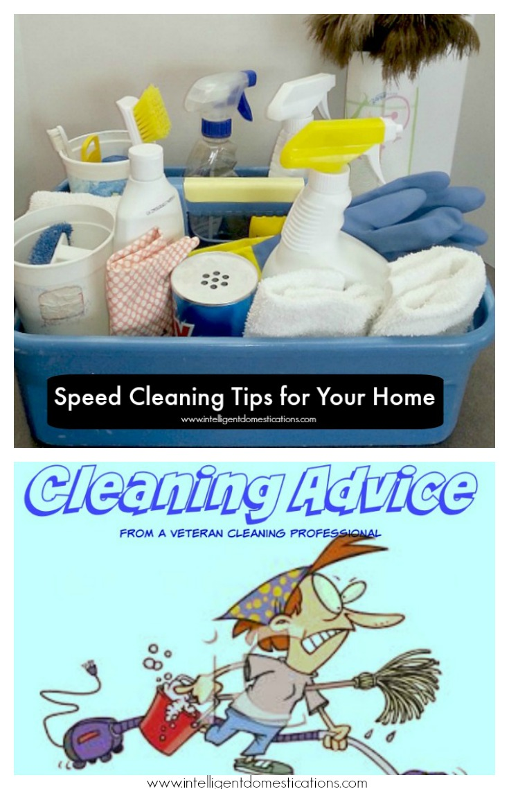 Speed Cleaning Tips.intelligentdomestications.com