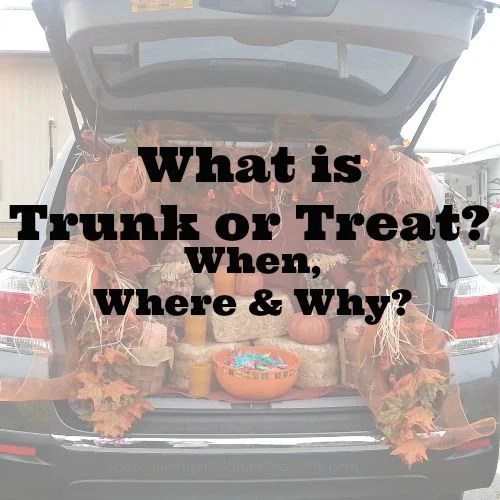 What is Trunk or Treat. When, Where and Why. We have all the answers for you.