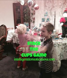 Stack the Cups Game by intelligentdomestications.com
