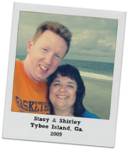Stacy and I on beach at Tybee Island 2009.intelligentdomestications.com