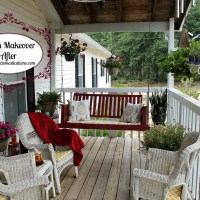 Our Budget Friendly Porch Makeover Reveal