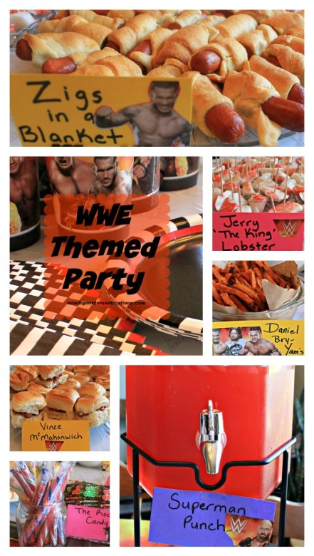 WWE Themed Party Ideas.This was our Wrestlemania party.intelligentdomestications.com