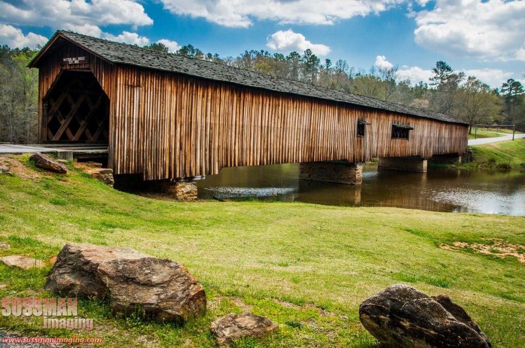 Watson Mill Bridge in Comer. photo by Sussman Imaging