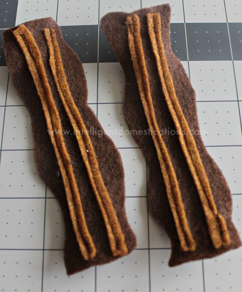 Felt bacon.www.intelligentdomestications.com