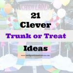 21 Clever Trunk or Treat Ideas 550x550 at www.intelligentdomestications.com