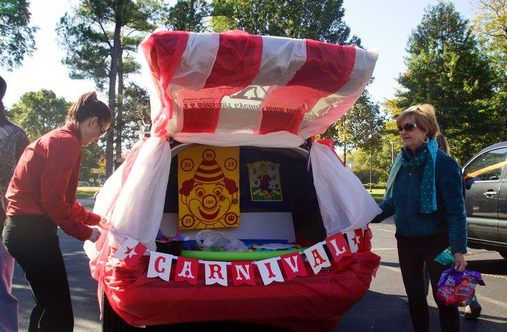Carnival Trunk or Treat idea found on Pinterest