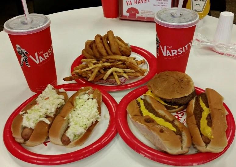 Varsity Atlanta.Dogs Fries & Onion Rings.intelligentdomestications.com