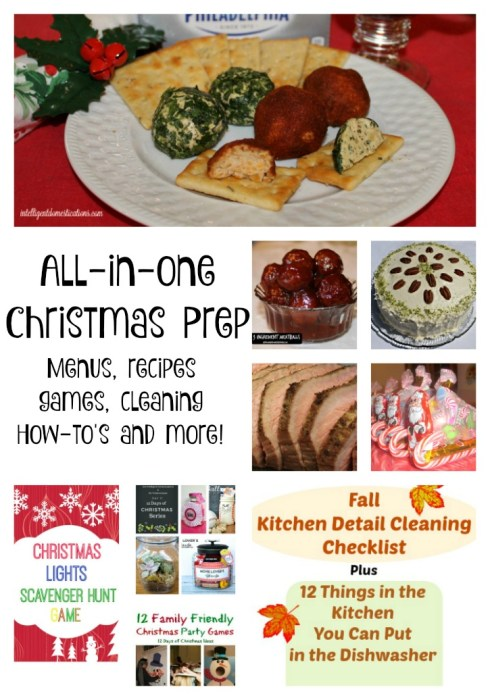 All In One Christmas Prep including menus, recipes, games, cleaning tips and more.intelligentdomestications.com