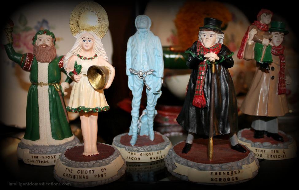 Christmas Home Tour 2015. A Christmas Carol Figures.intelligentdomestications.com