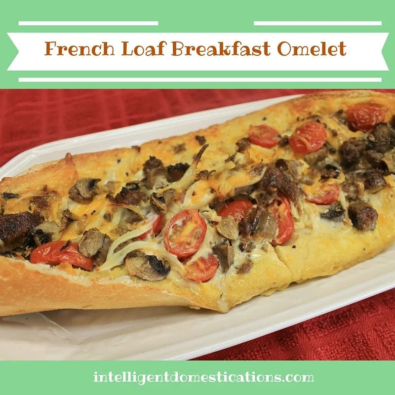 French Loaf Breakfast Omelet