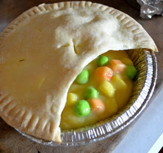 April Fool's Chicken Pot Pie from Mama Bee From The Hive