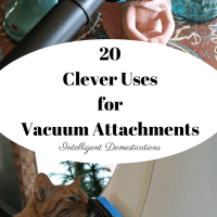 20 Clever Uses for Your Vacuum Attachments  Plus Enter to Win a Bissell PowerForce Helix