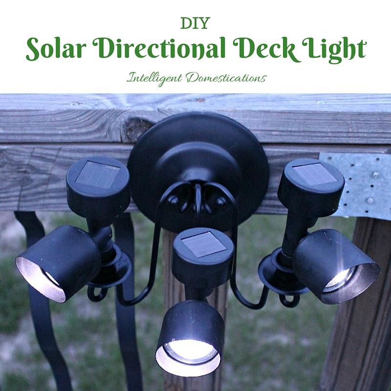 Solar Directional Deck Light