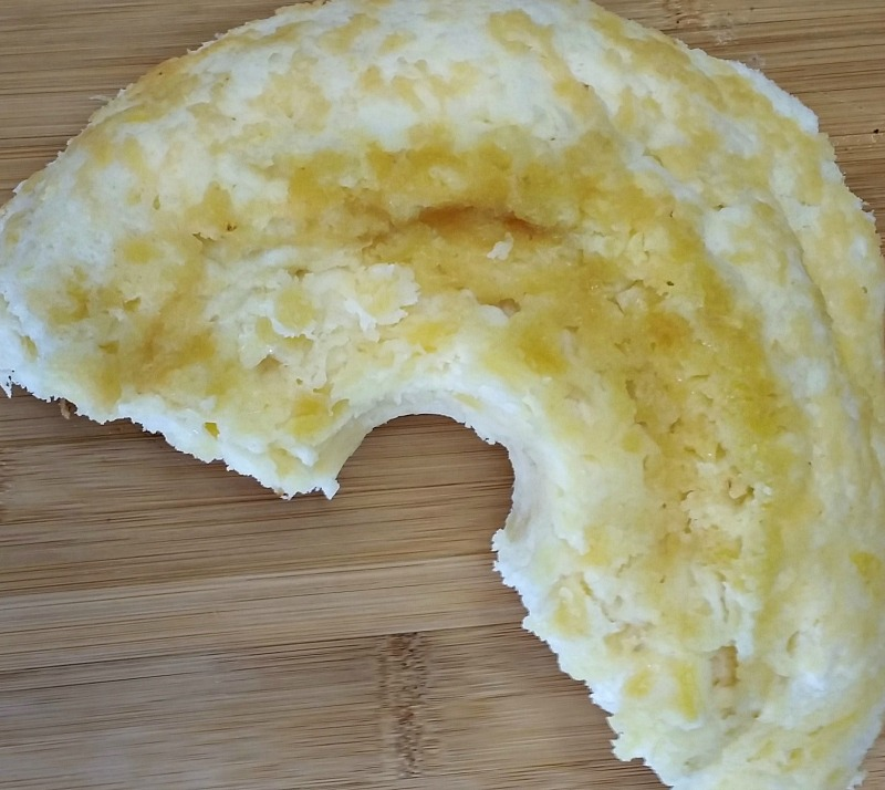 Enjoy a big slice of Pineapple Angel Food cake made with only two ingredients