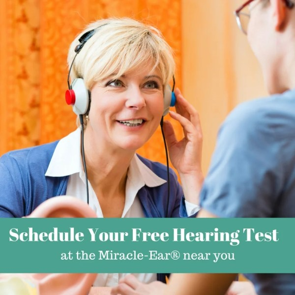 Find out how to schedule a free hearing test at the your nearest Miracle-Ear location